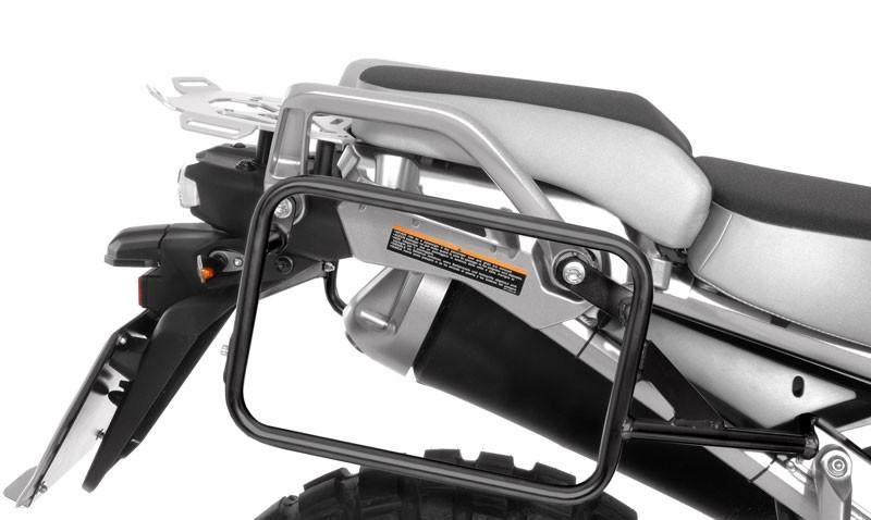 Black Stainless Steel Pannier Rack For Yamaha Xt1200z