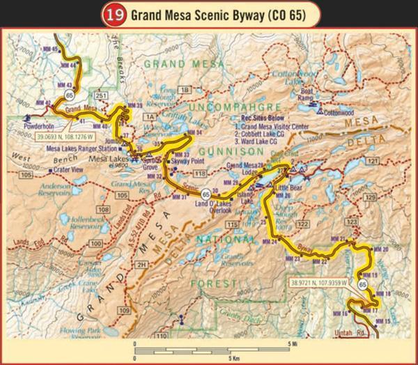 Colorado Elevation Map: Butler Motorcycle Maps