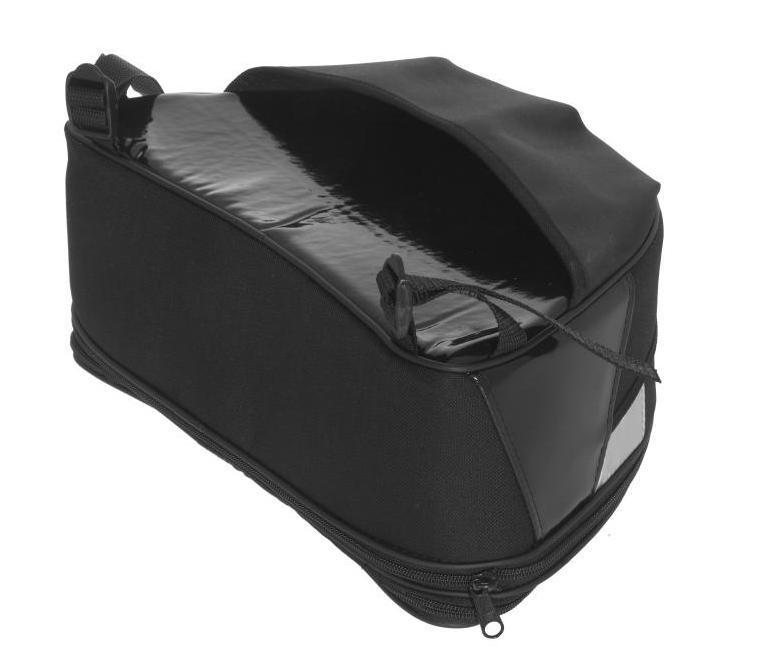 Expandable Touring Tail Rack Bag, BMW R1200GS, Up To 2012