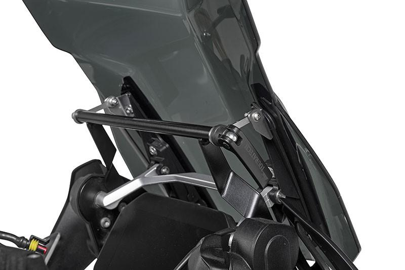 TTRS store Mounting Support Holder Fit For BMW R1200GS Adv GS1200 R1200 GS GSA Adventure Windshield Windscreen Bracket 2004-2012