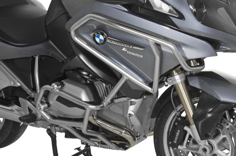 engine crash bars, stainless steel, bmw r1200rt 2014-on