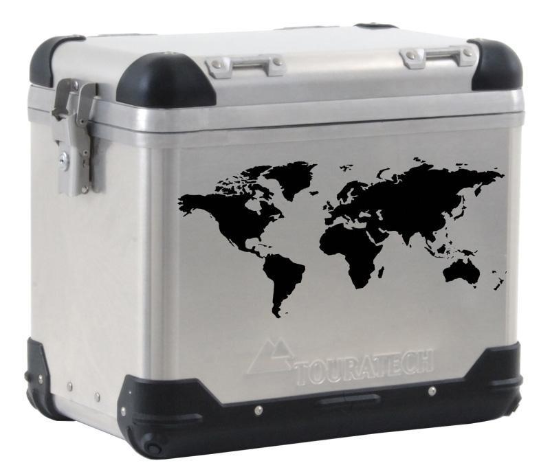 World map pannier decal black gumiabroncs Image collections