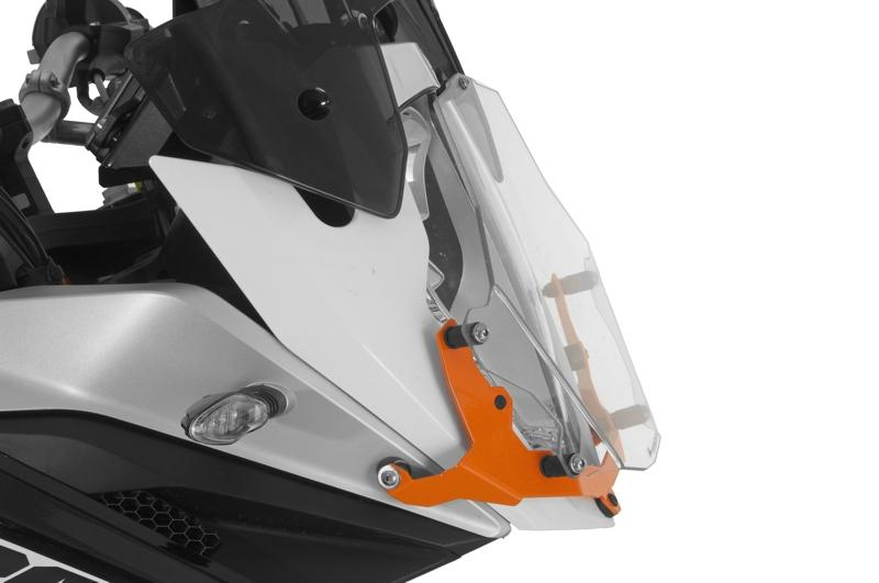 Adventure /& R Adv Front Lamp Headlight Guards Protector Cover For KTM 1190