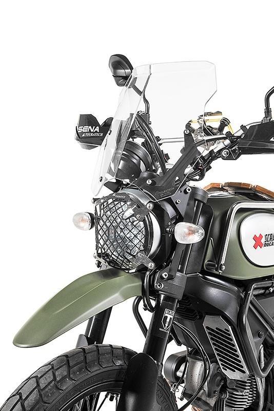 touratech windscreen ducati scrambler