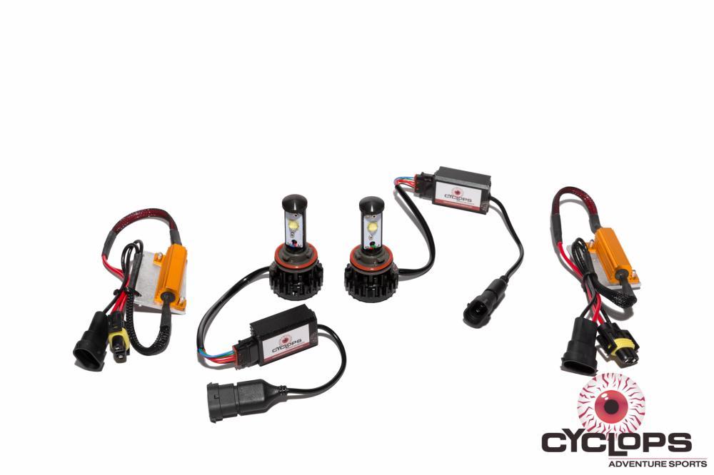 Cyclops LED Headlight Conversion, KTM 1090 / 1190 / 1290