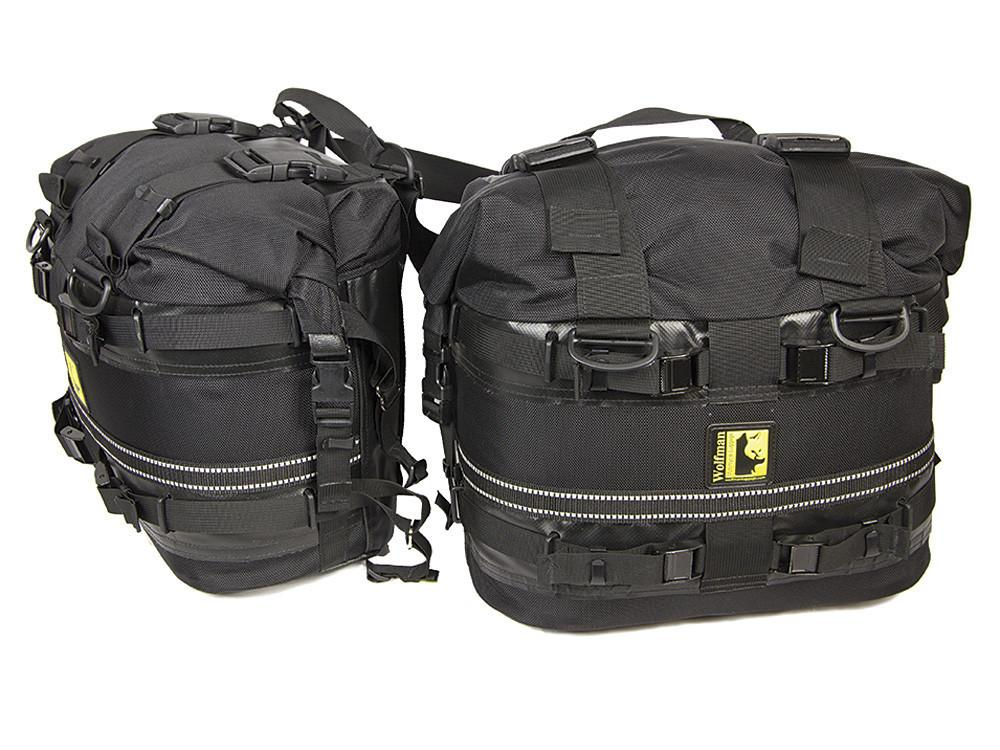 Wolfman rocky mountain saddle bags for Motor cycle saddle bags