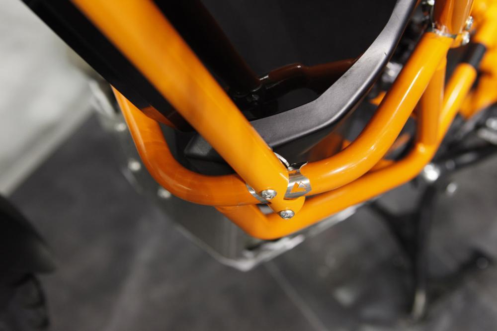 upper crash bars, ktm 1190 / 1090 adventure / r