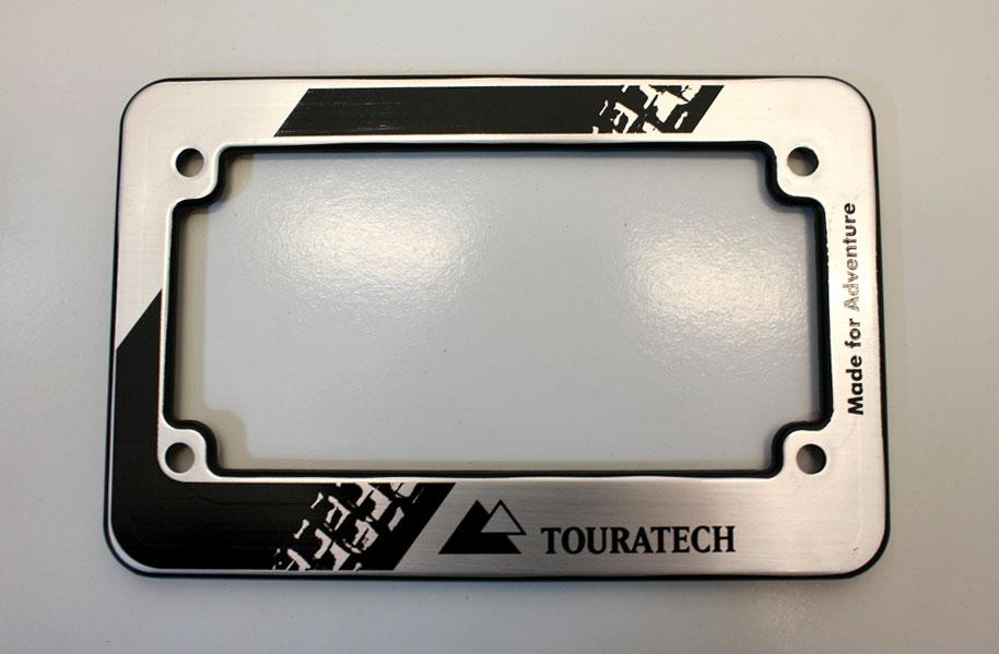 Touratech Motorcycle License Plate Frame