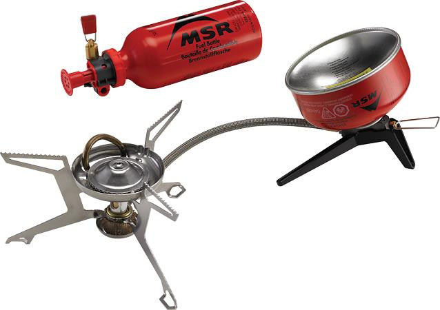 MSR Whisperlite Universal Camp Stove (liquid or canister fuel)