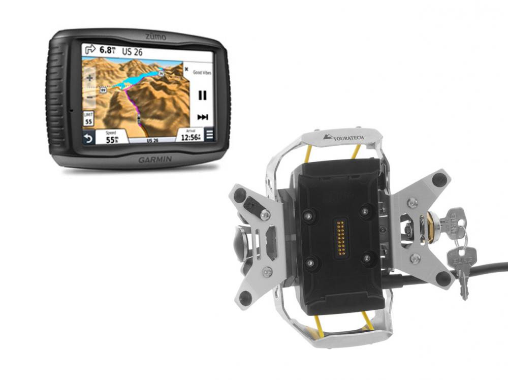 Garmin Zumo 595LM & Locking Mount Package
