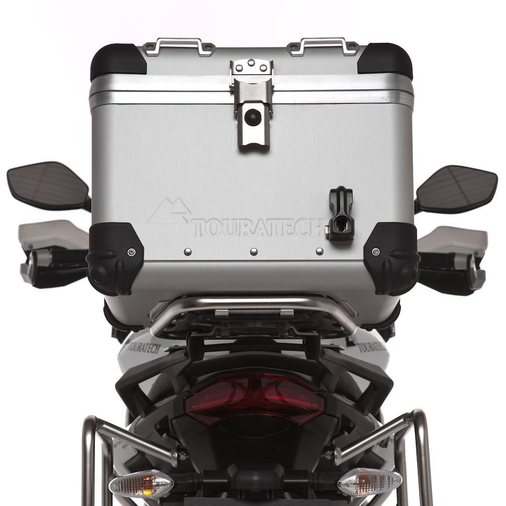 Zega Pro Topcase System Ducati Multistrada 1200 2010 2014 Ktm 620 Lc4 Wiring Diagram 38 Liter Silver Anodized