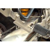Passenger foot peg relocation for BMW R11xxGS