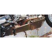 Aluminum Skid Plate, BMW R1200GS, up to 2005