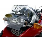 Clear Headlight Guard with Glare Shield R1200GS & Adventure, 2005-2013 Oil Cooled,