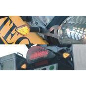 LED Indicators with Flexible Stalks R1200GS/ADV & HP2 (qty4)