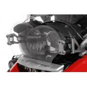 Quick Release Clear Headlight Guard, BMW R1200GS / ADV, 2005-2013, Oil Cooled