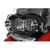 Quick Release Stainless Steel Headlight Guard, Black, BMW R1200GS / ADV 2005-2012, Oil Cooled