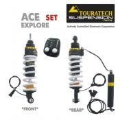 Touratech Suspension ACE Dynamic Shock Set, BMW R1200GS (Oil Cooled) 2005-2012