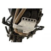 Small Skid Plate, Bare Aluminum, BMW F800GS/ADV / F700GS / F650GS Twin