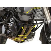 Crash Bar Upper Extension BMW F800GS, F650GS-Twin, 2008-2012