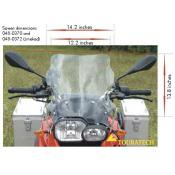 Large Touring Windscreen, BMW F800GS, F700GS, F650GS-Twin, 2008-on