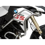 Upper Crash Bars, F800 / 700GS (not Adventure), 2013-on, Electropolished Stainless