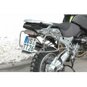 Pannier Racks, Standard, BMW R1200GS/Adv stainless steel