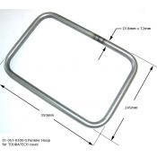 Pannier Frame (one piece) 18mm