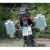 Pannier System KTM 690E (2018 and older) 31L,38L w SS rack