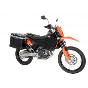 Pannier System KTM 690E 31L,38L w SS rack And-Black