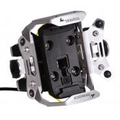 Touratech Zumo 350/390/395LM Locking GPS Handlebar Mount