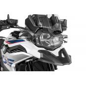 Quick Release Clear Headlight Guard, BMW F850GS, F750GS