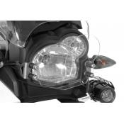 Quick Release Clear Headlight Guard, BMW G650GS / Sertao, 2011-on