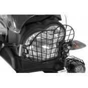 Quick Release Stainless Steel Headlight Guard, BMW G650GS / Sertao 2011-on