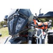 Quick Release Aluminum Headlight Guard, KTM 790 Adventure / R