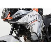 Upper Crash Bar Extensions, KTM 1290 Super Adventure / T (Up to 2016)