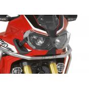 Quick Release Clear Headlight Guard, Honda Africa Twin CRF1000L & Adventure Sports