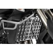 Radiator Guard, Silver, Triumph Tiger 800 / XC, up to 2014