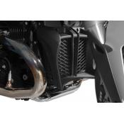 Oil Cooler Guard, Black Anodized Aluminum, BMW R1200R, 2011-on