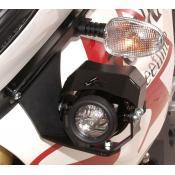 Auxiliary Xenon (HID) light, Triumph Tiger 1050i L-Side