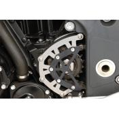 Pinion guard, stainless steel Triumph Speed Triple 1050i