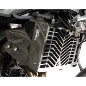 Stainless Radiator Guard w/ Carbon Fiber Cowling, F800R