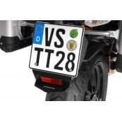 License Plate Splash Guard, Ducati Multistrada 1200 (2010-2014)