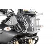 Quick Release Clear Headlight Guard, Yamaha Tenere 700