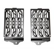 Stainless Steel Radiator Guards, BMW R1250GS & R1200GS / ADV, (Water Cooled) 2013-on