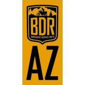 AZBDR Pannier Decal, Arizona Backcountry Discovery Route