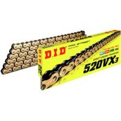 X-ring Chain DID Gold 520VX3-116L