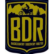 Backcountry Discovery Routes BDR Decal