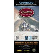Butler Motorcycle Maps - Colorado Backcountry Discovery Route (COBDR)