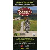 Butler Motorcycle Maps - Mid-Atlantic Backcountry Discovery Route (MADBR)